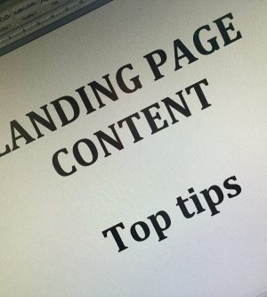 Tips for writing landing pages that people actually want to land on